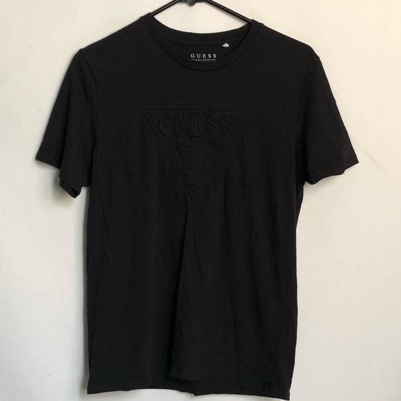 Guess Men's Black T-shirt